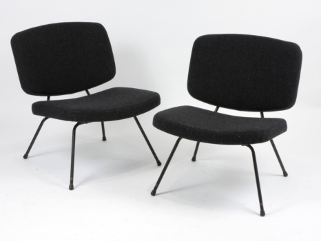 A pair of model CM190 low chairs
